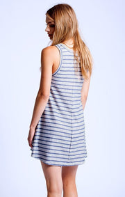 SOL Los Angeles Loop Stripe Flounce Dress at Blond Genius - 3