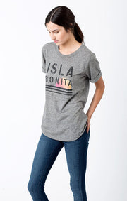 Sol Angeles - Isla Bonita Rolled Sleeve Crew