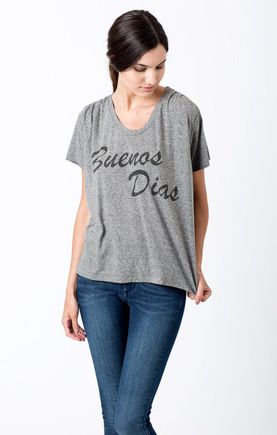 Sol Angeles - BUENOS DIAS PLEAT TEE