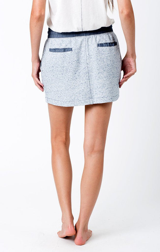 Sol Angeles - Denim French Terry Skirt