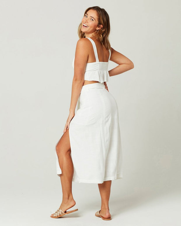 L*Space - Del Mar Skirt in White