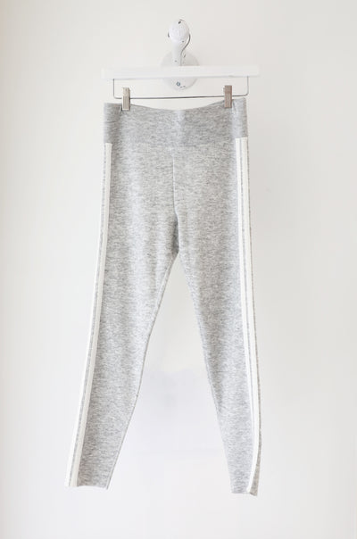 Sundays - e Canteen Sweater Track Pant in Silver/Cream