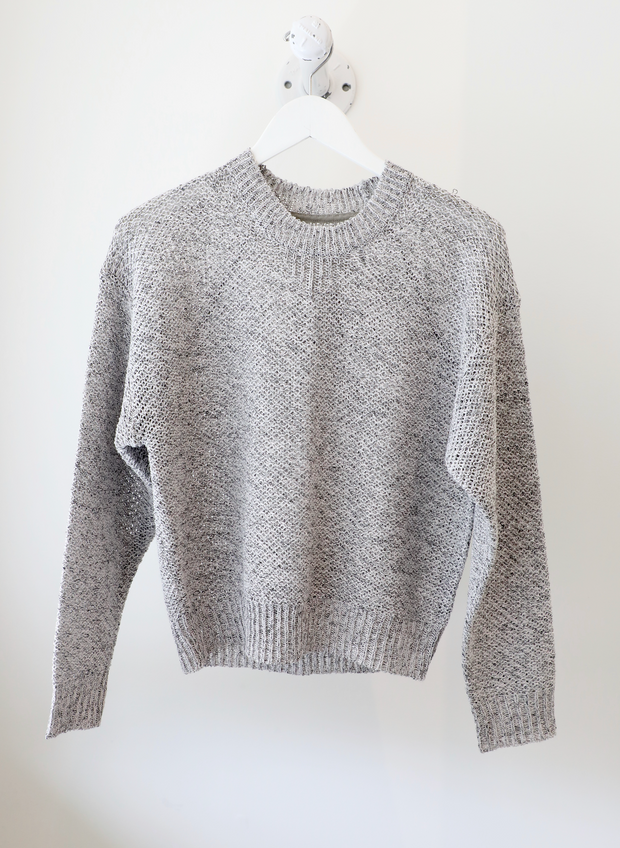Brochu Walker - Maya Sweatshirt in Pewter Combo