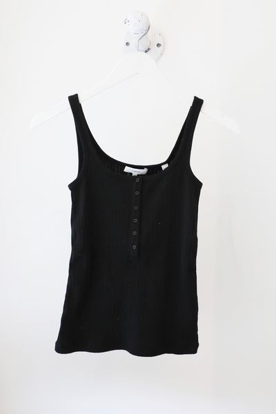 Vicne - Henley Tank in Black