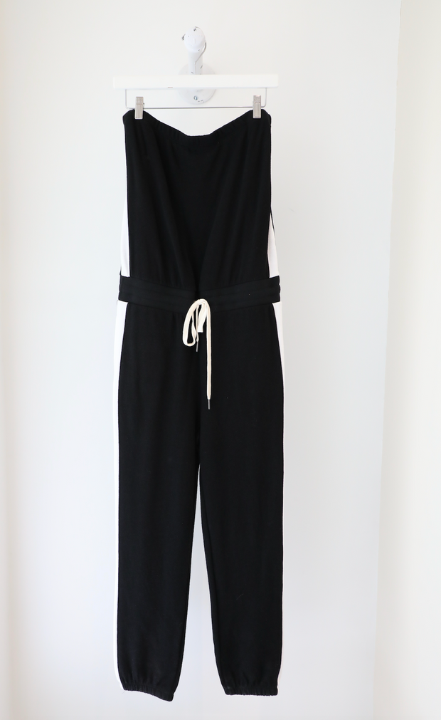Philanthropy - Delhi Jumpsuit in Black Cat