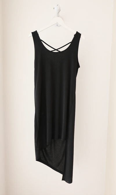 Splendid - Cross Back Dress in Black