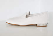 Pedro Garcia - Ginebra Sneakers in White Stucco