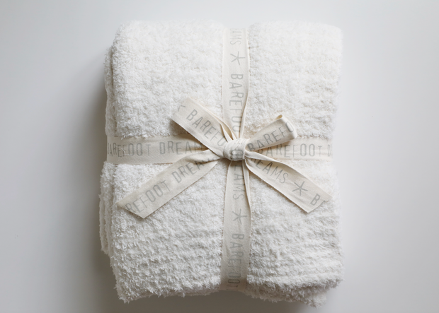 Barefoot Dreams - CozyChic Throw in Cream