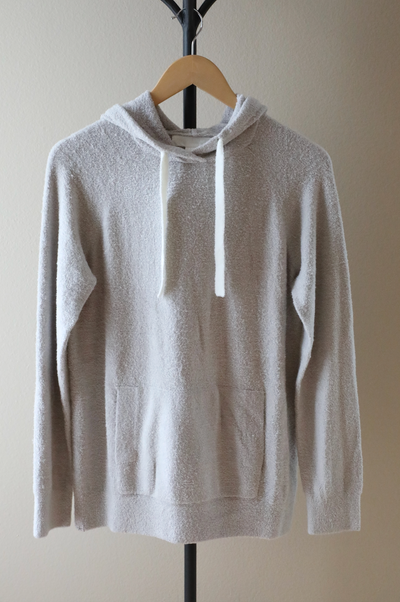 Barefoot Dreams - CozyChic Lite Women's Pullover Hoodie in Silver