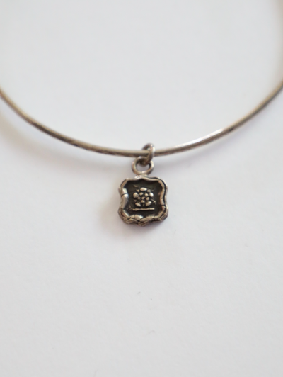 Pyrrha - Eternal Devotion Charm in Silver