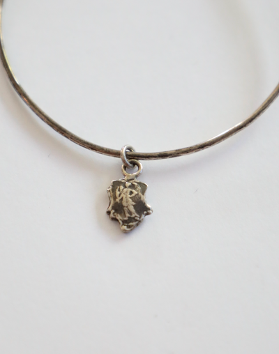 Pyrrha - Angel Charm in Silver