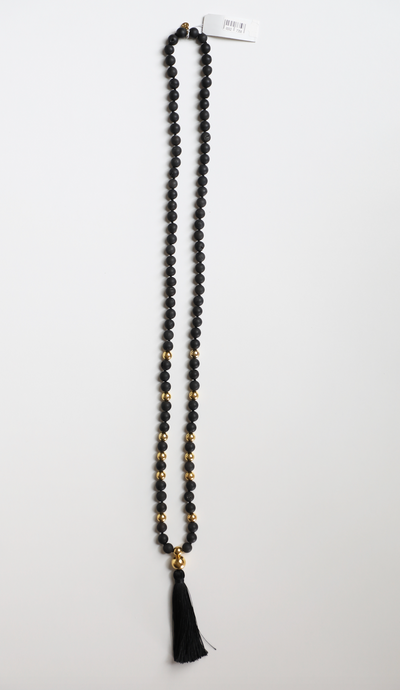 Gorjana - Beaded Necklace with Tassel