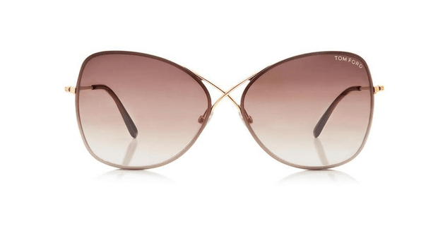 Tom Ford - Colette in Shiny Rose Gold/Gradient Brown