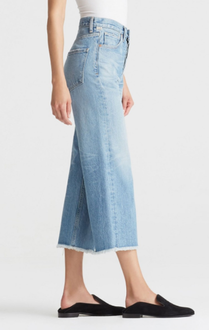 Citizens of Humanity - Emma Wide Leg Crop in Stax