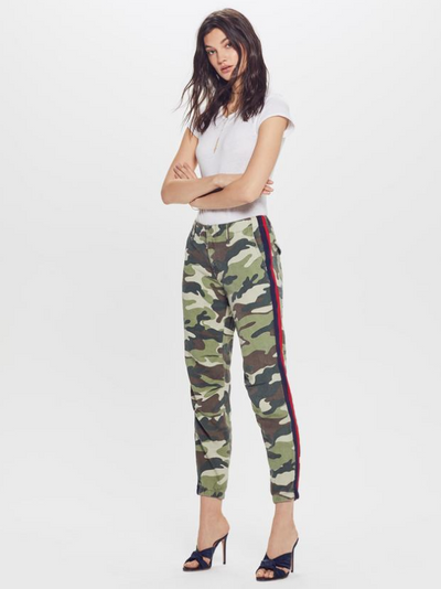 MOTHER - The No Zip Misfit Pant in Double Time Camouflage