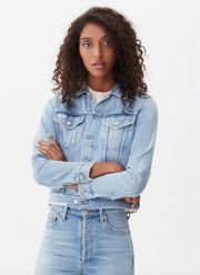 Citizens of Humanity - Nica Slim Cut Denim Jacket in Dreamlight