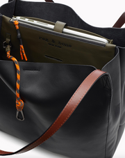 Rag & Bone - Passenger Tote in Black/Olive Night