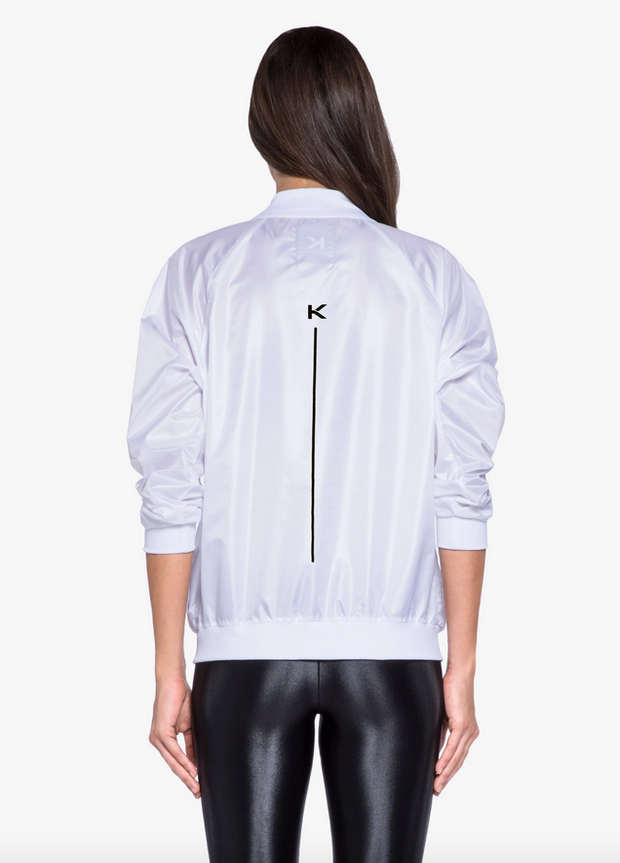 Koral - Dash Jacket in White & Black