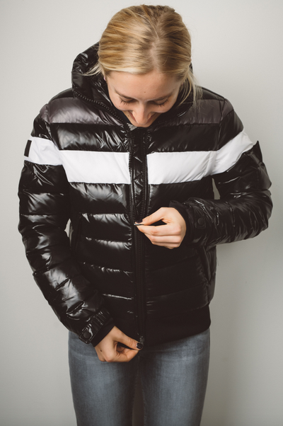 SAM - Starburst Down Jacket in Jet