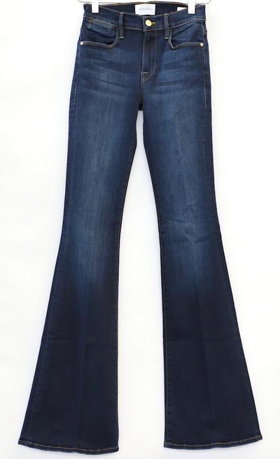 Frame - Le High Flare Jeans in Augusta