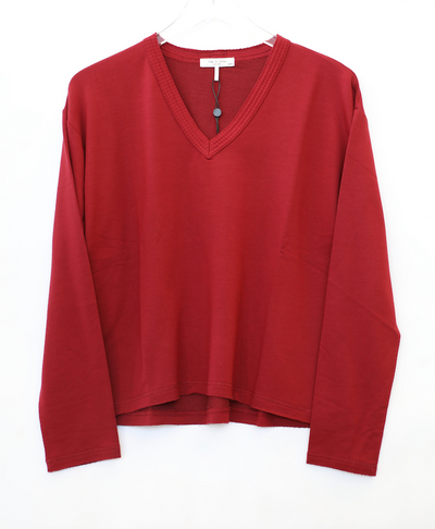 Rag & Bone - Surplus Pullover in DPBERRY