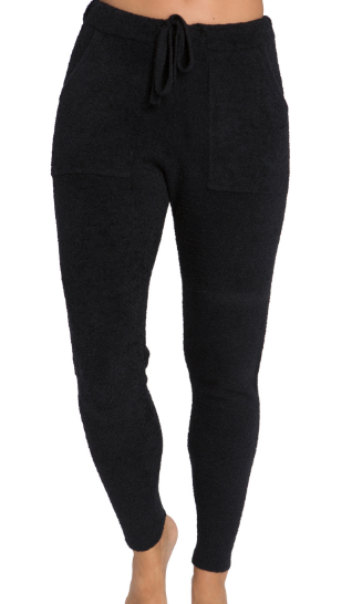 BAREFOOT DREAMS - CozyChic Lite Women's Jogger Pant in Black