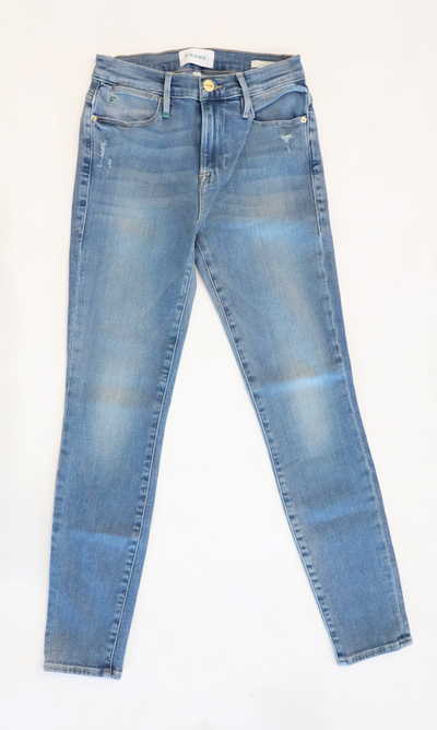 Frame Denim - Le High Skinny Jeans in Republic