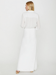 Brochu Walker - Madsen Maxi Dress in Salt White