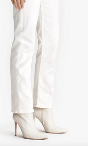 Mother - The Tomcat Ankle Jeans in Cream Puffs