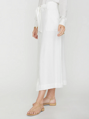 Brochu Walker - Carpi Skirt in Salt White