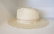 Rag & Bone - Packable Straw Fedora in Natural