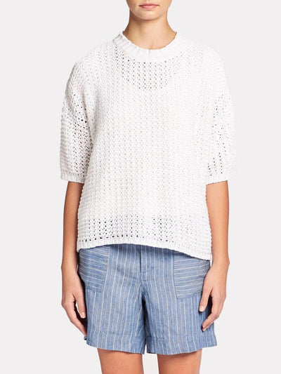 BROCHU WALKER - Soleil Tee in Salt White