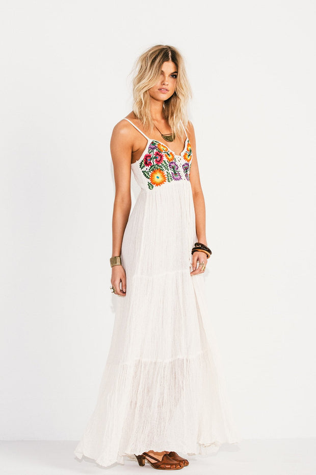 Jen's Pirate Booty Summer Bloom Coquette Maxi Dress at Blond Genius - 1