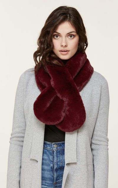 Soia & Kyo- Taliana Scarf in Oxblood