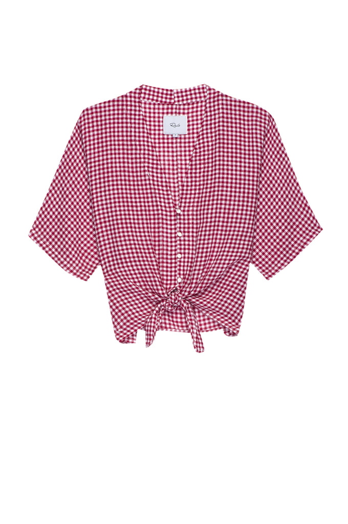 RAILS - Thea Red Mini Gingham