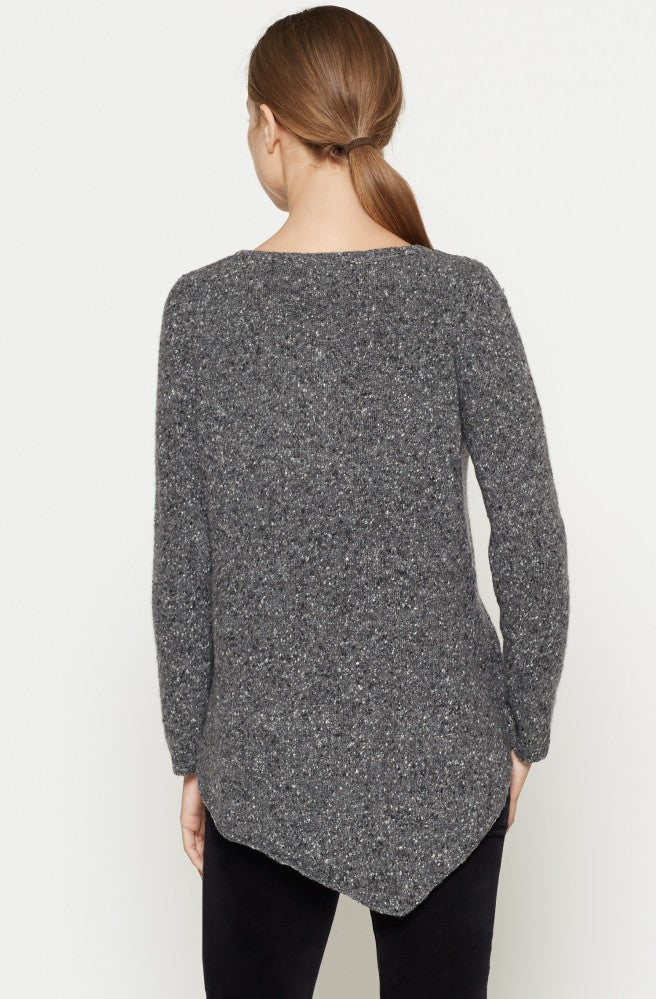Joie JOIE -  Tambrel Sweater Heather Charcoal at Blond Genius - 3