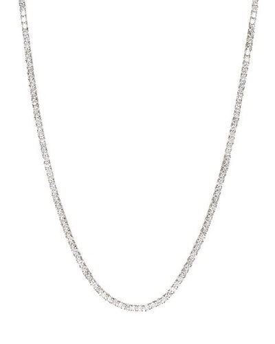 LUV AJ - The Ballier Necklace in Silver