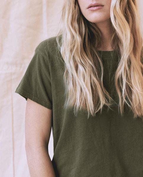 The Great - The Slim Tee Olive