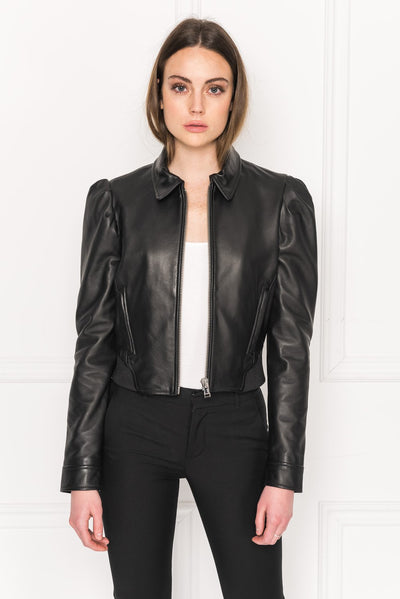 Lamarque - Ursula Leather Jacket in Black