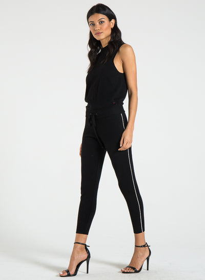 PHILANTHROPY- Laser Jumpsuit Black Cat