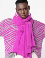 White + Warren - Travel Wrap in Optimistic Pink