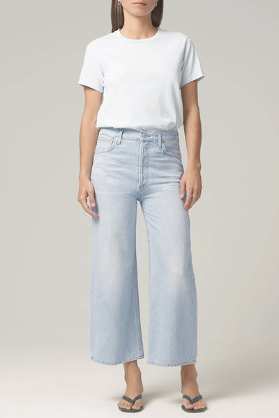Citizens of Humanity - Sacha High Rise Wide Leg Jeans in Promise