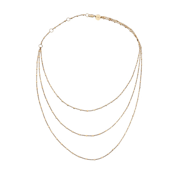 Jennifer Zeuner - Marchel Necklace in Gold Vermeil