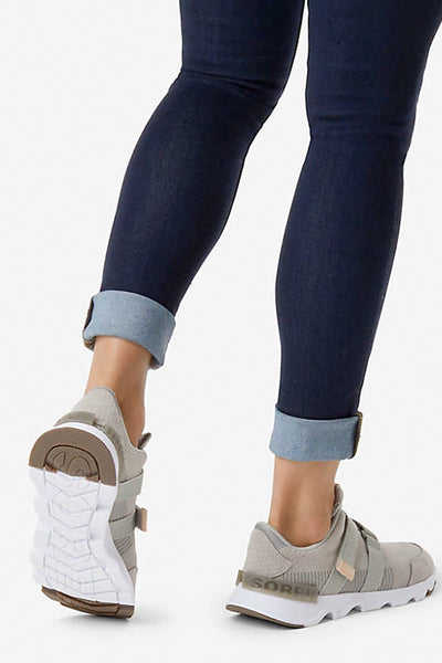 Sorel - Kinetic Lite Strap Perf Sneakers in Dove