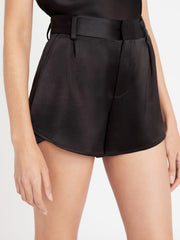 Alice + Olivia - Alden High-Waisted Butterfly Short in Black