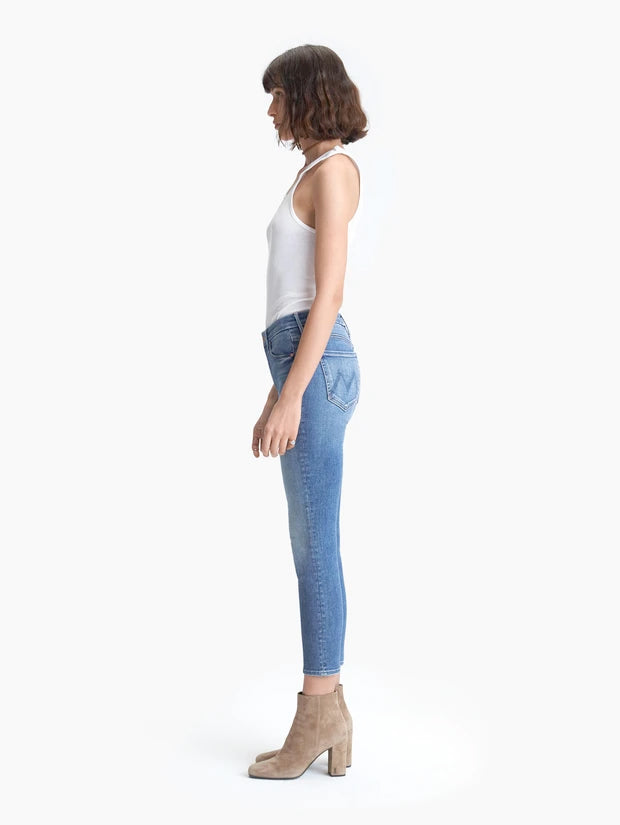 Mother Denim - The Looker Crop Skinny Jeans in Hey Sun