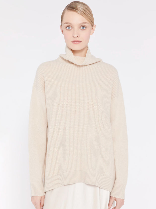 Alice + Olivia - Daphney Turtleneck Tunic Oatmeal
