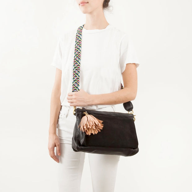 Clare V. - Crossbody Strap in Multi Webbing