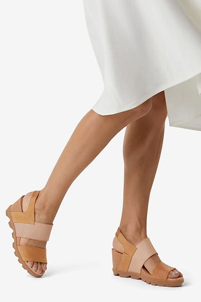 Sorel - Joanie II Slingback Wedges in Camel Brown