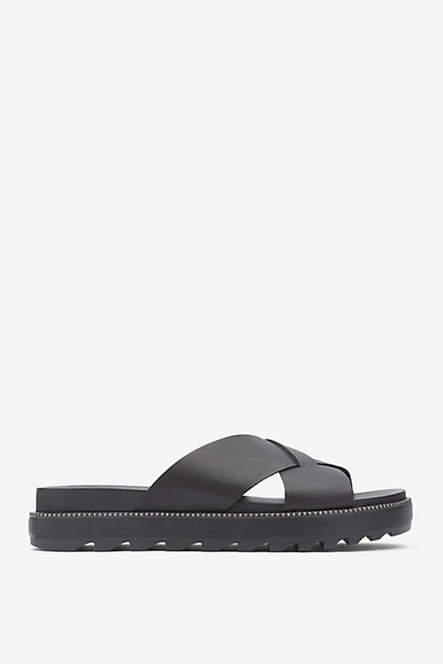 Sorel - Roaming Criss Cross Slide in Black